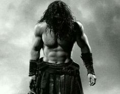 Brother of the Black Dagger Brotherhood??? He is J.R. Ward worthy...