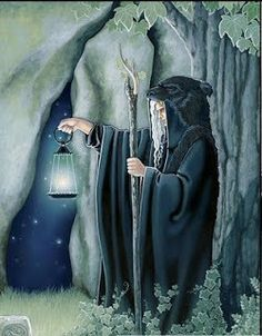 the hermit tarot hi res art - Google Search