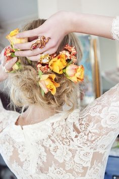 C E C I L I E M E L L I: Cecilie Melli Bride 2012/ Brudekjoler 2012...omg rose lace detail! love it