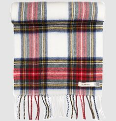 Dress Stewart Tartan scarf 100% lambs wool 150cm long, 30cm wide There are many variants of the Royal Stewart Tartan in existence, one of which is the Black Stewart Tartan. Made by Lochcarron of Scotland for Dr Martens.