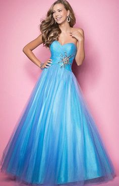 p04 pinkblue  beading prom ball sequined  gown evening party dress uk seller