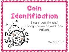 Are your kinders struggling to identify coins (penny, nickel, dime and quarter) and their values? Looking for an easy money review activity?This hands-on spinner game challenges students to identify the coins, based on images of the fronts and backs, and chart the coins that they land on.