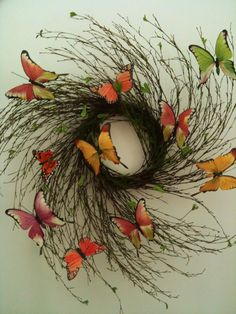 I like this, but I want more colorful butterflies on mine.