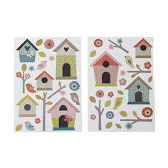 Stickers pour enfants : maisons d'oiseaux Muticolore - Baby - Stickers pour chambre enfants - Décoration pour enfant - Univers des enfants - Décoration d'intérieur - Alinéa