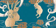 Maxim's Mid-Autumn Festival Graphic on Behance