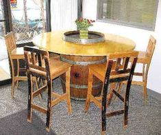 Round Table Top, Open Slot, 48