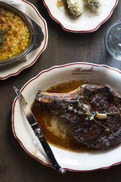 The porterhouse at Marcel, Ford Fry's francophile new steakhouse in Westside area of Atlanta