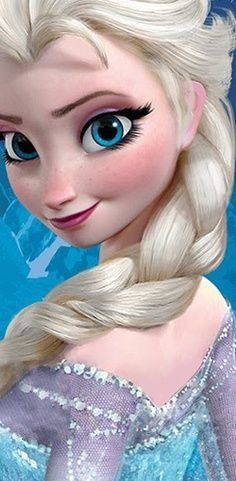 Day 10: Best hair. Elsa. I love the snowflakes she has in her hair after her transformation. She's gorgeous. :)