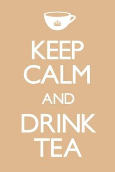 KEEP CALM AND DRINK TEA - Europosters