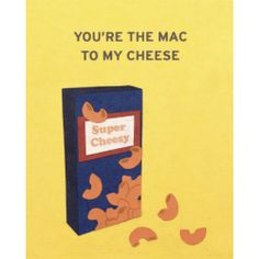 """Fair Trade You're the Mac to my Cheese Card — handmade in the Philippines — find it at http://fairandsquareimports.com/stationery/youre-the-mac-to-my-cheese-card-philippines —This """"Mac n Cheese"""" card is lovingly handcrafted in the Philippines by women survivors of sex trafficking. The card incorporates a variety of handmade, recycled papers, making it environmentally sustainable, too."""