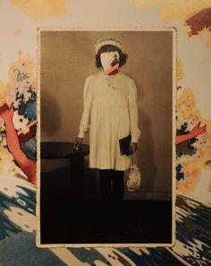 "Saatchi Art Artist Rodriguez Emanuel; Collage, ""I"" #art"