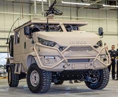 The Anaconda is a new consept, which is developed en launched in The base of the Anaconda is the IVECO Daily. This van is extremly stong van but it is transformed in a light military vehical. Commercial Van, Commercial Vehicle, Army Vehicles, Armored Vehicles, Off Road Experience, Armored Truck, Futuristic Home, Hummer H1, Jeep Models