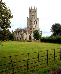 The Church of St Mary and All Saints at Fotheringhay, Northamptonshire