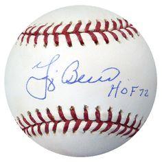 "Yogi Berra Autographed Official MLB Baseball Yankees """"HOF 72"""" PSA/DNA #AB50672"