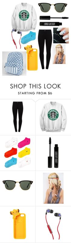 """""""Road Trip #1"""" by itsmyworld12 ❤ liked on Polyvore featuring Patrizia Pepe, Ralph Lauren Blue Label, Lord & Berry, Ray-Ban, Disney, Skullcandy and Vans"""