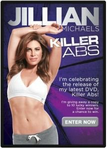 Jillian Michaels Is Back With her Killer Abs Workout DVD