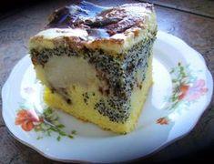 fale dunaju z makiem poppy seed cake Polish Recipes, Polish Food, Cake Recipes, Dessert Recipes, Poppy Seed Cake, Best Dishes, Homemade Cakes, No Bake Desserts, Bakery