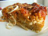 Chicken parmesan pie