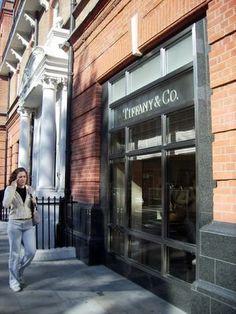 Tiffany Company Store Sloane Square London