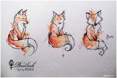 // love the middle one and think it would look cute with some flowers #HotTattoos