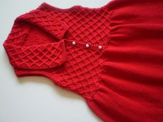 Sleeveless Smock Dress pattern by Debbie Bliss