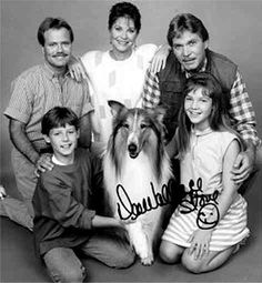 """Spinoffs -The New Lassie - 1989-91 The series centered on a suburban family, Real life spouses Christopher Stone and Dee Wallace played Chris and Dee McCullough, with Will Estes & Wendy Cox as their children and Jon Provost (who starred as Timmy Martin in the early Lassie) as Uncle Steve, Despite a good cast it again lacked the traditional Lassie """"spark"""" that made the Jeff, Timmy, and early Corey Stuart episodes so good."""