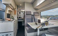 Das neue Lifestyle Wohnmobil Tourne-Mobil 4Dream Mobiles, Caravan Van