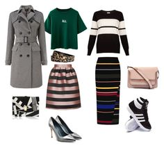 """ALL"" by marimonda on Polyvore featuring H&M, Phase Eight, Sergio Rossi, Marni, Topshop, STELLA McCARTNEY and adidas"