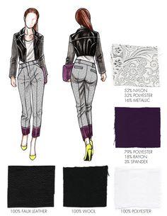FIT Portfolio Application Fashion Design Sketchbook, Fashion Design Portfolio, Fashion Logo Design, Fashion Sketches, Fashion Drawings, Fashion Illustrations, Fashion Collage, Fashion Art, Fashion Models