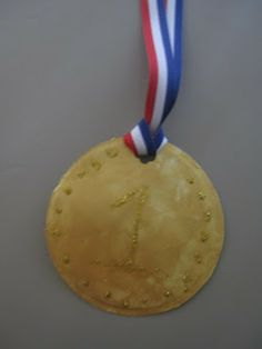 Olympic Art Projects: Personalized Gold Medals and Olympic Torches