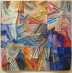 I had the honor and pleasure of jurying Quilts=Art=Quilts at the Schweinfurth Memorial Art Center...