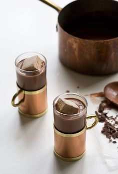 Decadent?!  How to Make Fancy-Ass Hot Chocolate // www.acozykitchen.com