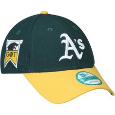 c3511c7cce4ff Men s Oakland Athletics New Era Green Gold Game of Thrones 9FORTY  Adjustable Hat