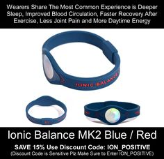 Ionic Balance Products make you FEEL great, BE HAPPY, BE CALM, BE HEALTHY, BE POSITIVE and look great at the same time -- Fashionable, uplifting AND practical! How does it get better? FREE shipping, Money Back Warranty -- How does it get better? AND FOR EXTRA 15% OFF WITH DISCOUNT CODE: ION_POSITIVE Use above code at check out. Note it is case sensitive!