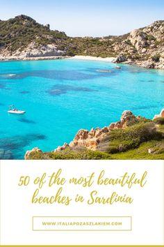 SARDYNIA - 50 najpiękniejszych plaż na wyspie. Przewodnik Most Beautiful Beaches, Mario, Track, Water, Outdoor, Italia, Gripe Water, Outdoors, Runway