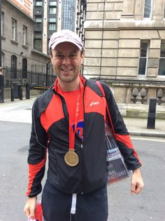 Another one of our Virgin London Marathon finalist!