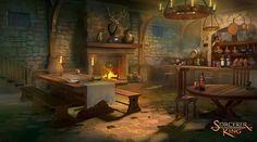 ArtStation sorcerer king concepts Tyler edlin Fantasy art landscapes Concept art Art