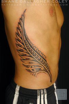 Maori fern tattoo with koru swirls - Buscar con Google