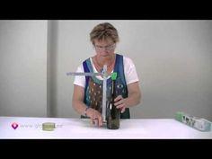Glass Bottle Cutter - How to cut glass bottles Part 1 - YouTube