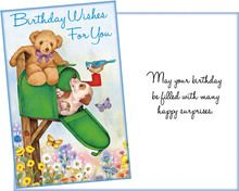 25¢ a card, six cards with six envelopes for $1.50 stockwell greetings wholesale greeting cards
