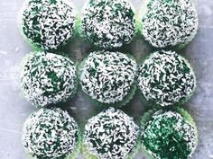 "► ""Snow balls"" à la spiruline • Hellocoton.fr"