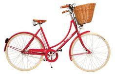 Modelo supervintage da Pashley com cesta!  À venda na Velosophy (R$ 6.250)