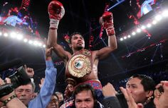 Manny Pacquiao will soon be reunited with his compatriots in the Philippines, where he's assured of a hero's welcome.