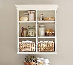 Newport Wall Cabinet #potterybarn