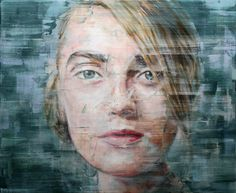 Untitled (16-2013) | From a unique collection of portrait paintings at https://www.1stdibs.com/art/paintings/portrait-paintings/