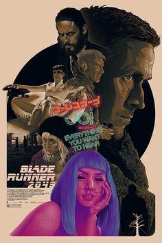 Blade Runner 2049 Archives - Home of the Alternative Movie Poster -AMP- Fiction Film, Science Fiction, Rick Deckard, Indiana Jones Films, Badass Movie, Denis Villeneuve, Arte Cyberpunk, Blade Runner 2049, Alternative Movie Posters