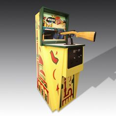 1970 midway flying carpet arcade machine. The perfect retro arcade game addition to a games room.