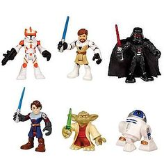 45412 toys-games Playskool Star Wars Jedi Force Galactic Heroes Lot of 6 Figures New In Box  BUY IT NOW ONLY  $32.99 Playskool Star Wars Jedi Force Galactic Heroes Lot of 6 Figures New In Box...