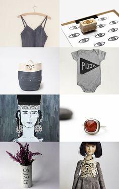 Beautiful gray by Sasha Luneva on Etsy--Pinned with TreasuryPin.com