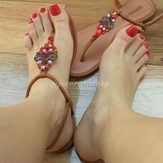 A collection of the best female feet pictures I found. just gorgeous feet. Beautiful Sandals, Beautiful Toes, Cute Sandals, T Strap Sandals, Beautiful Things, Nice Toes, Pretty Toes, Foot Love, Sexy Toes